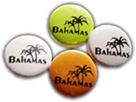 Bahamas Ansteckbutton 25 mm